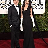 When They Looked Like an Old Hollywood Duo at the Golden Globes