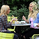 Heidi and Stephanie Have Lunch