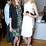 Sara Blomqvist and Hanne Gaby Odiele at an event for Autism Speaks in New York. Source: Joe Schildhorn /BFAnyc.com