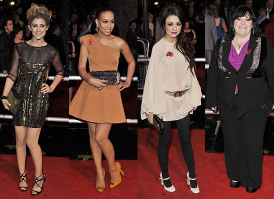 Pictures of The X Factor Contestants at Harry Potter and the Deathly Hallows Premiere in London
