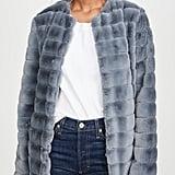 BB Dakota Anything For You Faux Fur Coat