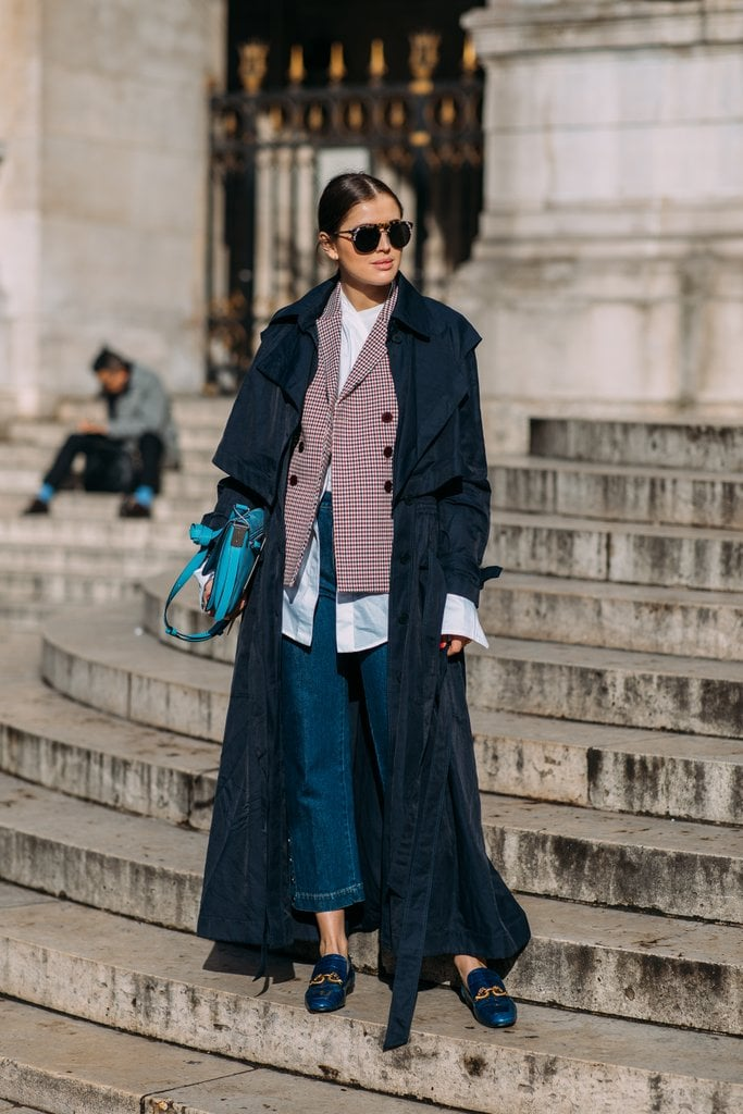 Layer It Under a Blazer and Add a Trench Coat on Top