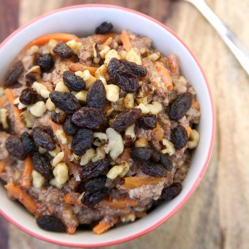 Slow-Cooker Carrot Cake Oatmeal