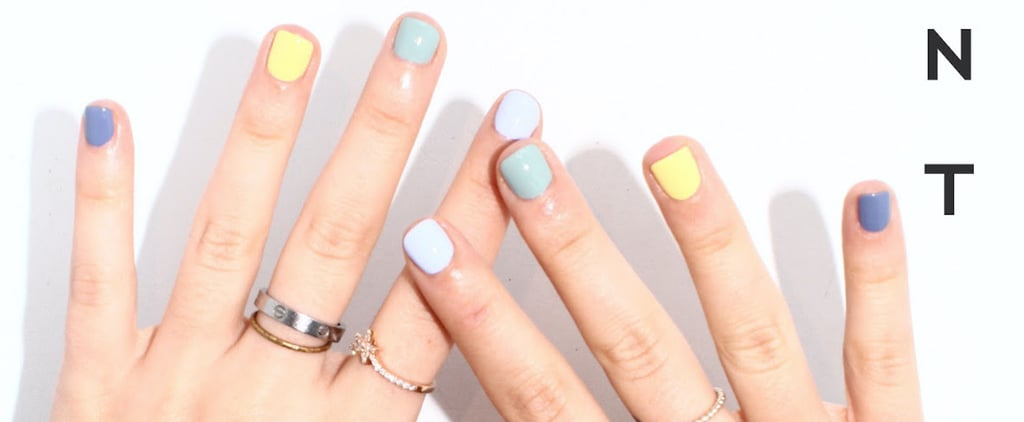 """I Tried the """"Skittles"""" Manicure 