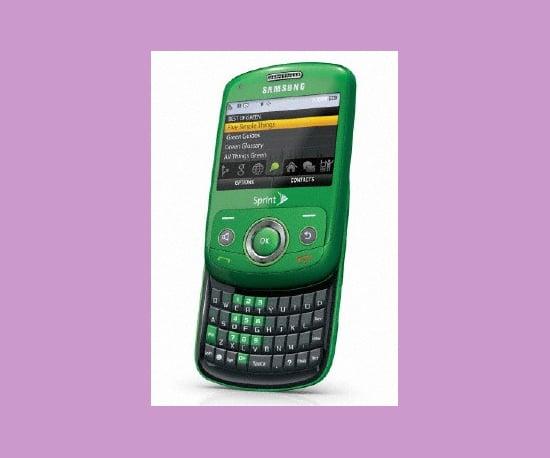 Samsung Debuts a Green Phone