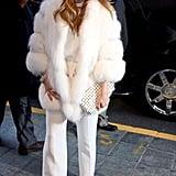 Jennifer Lopez in New York City in 2012
