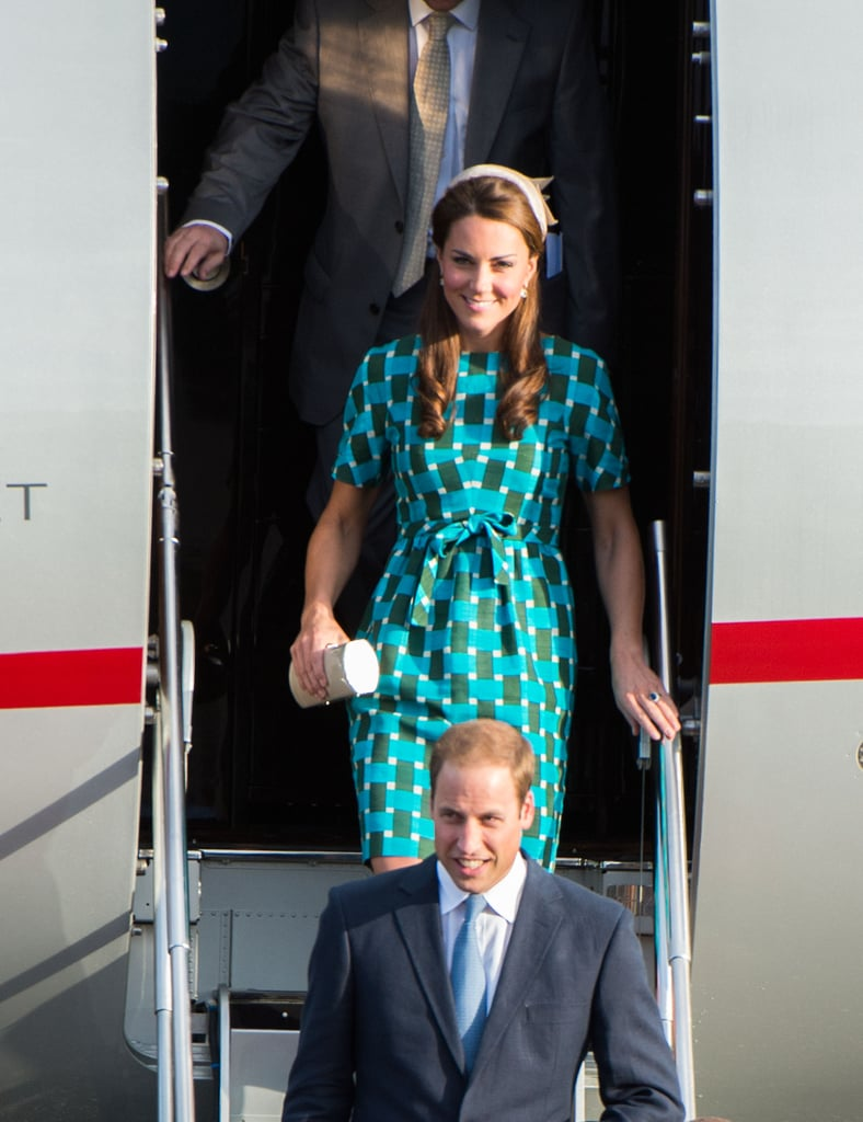 Prince William and Kate Middleton Arrive at Solomon Islands ...