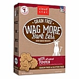 Cloud Star Wag More Bark Less Oven Baked Grain Free Pumpkin Dog Treats ($8)