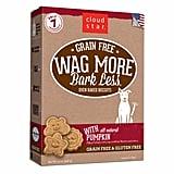 Cloud Star Wag More Bark Less Oven Baked Grain Free Pumpkin Dog Treats ($8)
