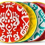 Mudhut MudhutTM Ikat Dinner Plate Set of 4 ($14.99)