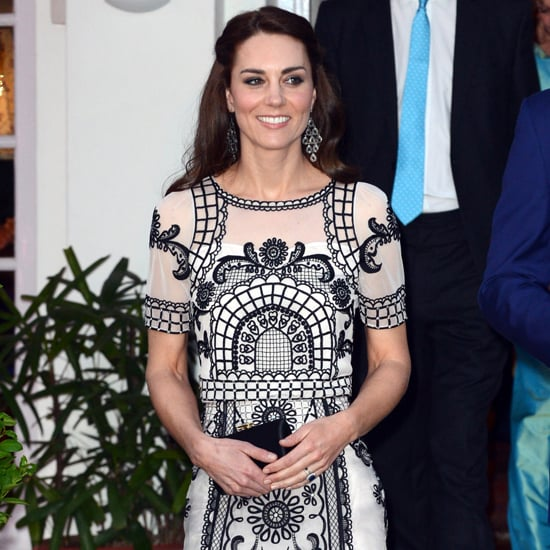 Duchess of Cambridge Wears Temperley London India April 2016