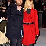 Photos of Jim Carrey and Jenny McCarthy in the UK for the Premiere of A Christmas Carol 2009-11-03 15:12:32
