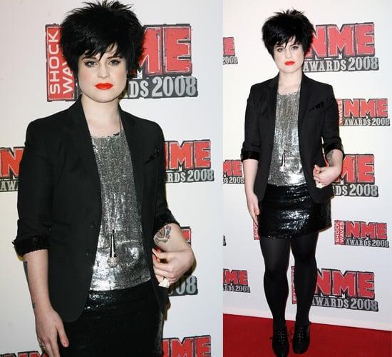 NME Awards 2008: Kelly Osbourne