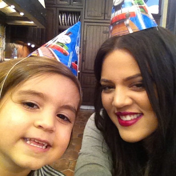 Khloé Kardashian shared a cute photo of herself with nephew Mason Disick while celebrating his third birthday. Source: Instagram user khloekardashian