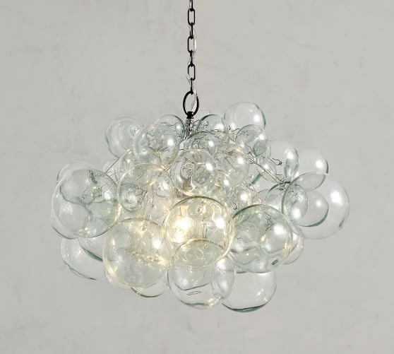 Ursula: Ramona Recycled Glass Chandelier