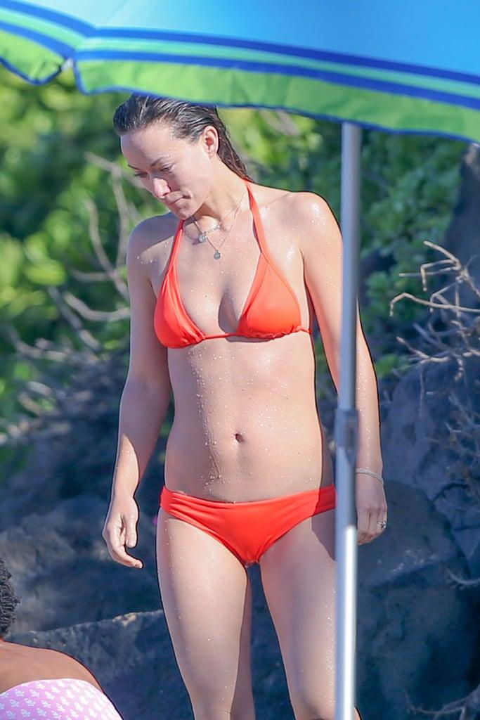 Olivia Wilde Bikini Pictures In Hawaii December  Popsugar Celebrity