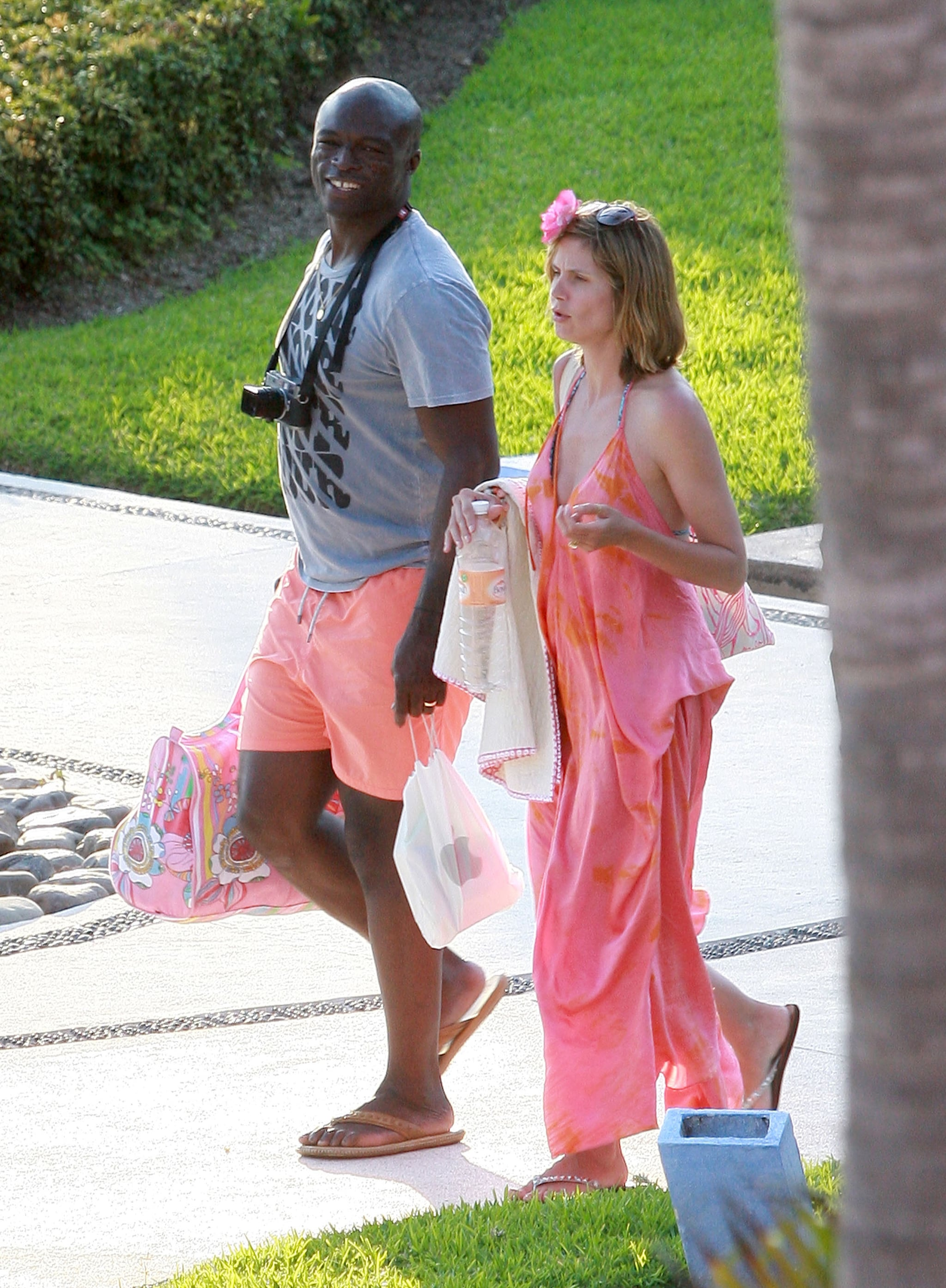 Pictures of Heidi Klum In a Bikini With Seal For Their ...