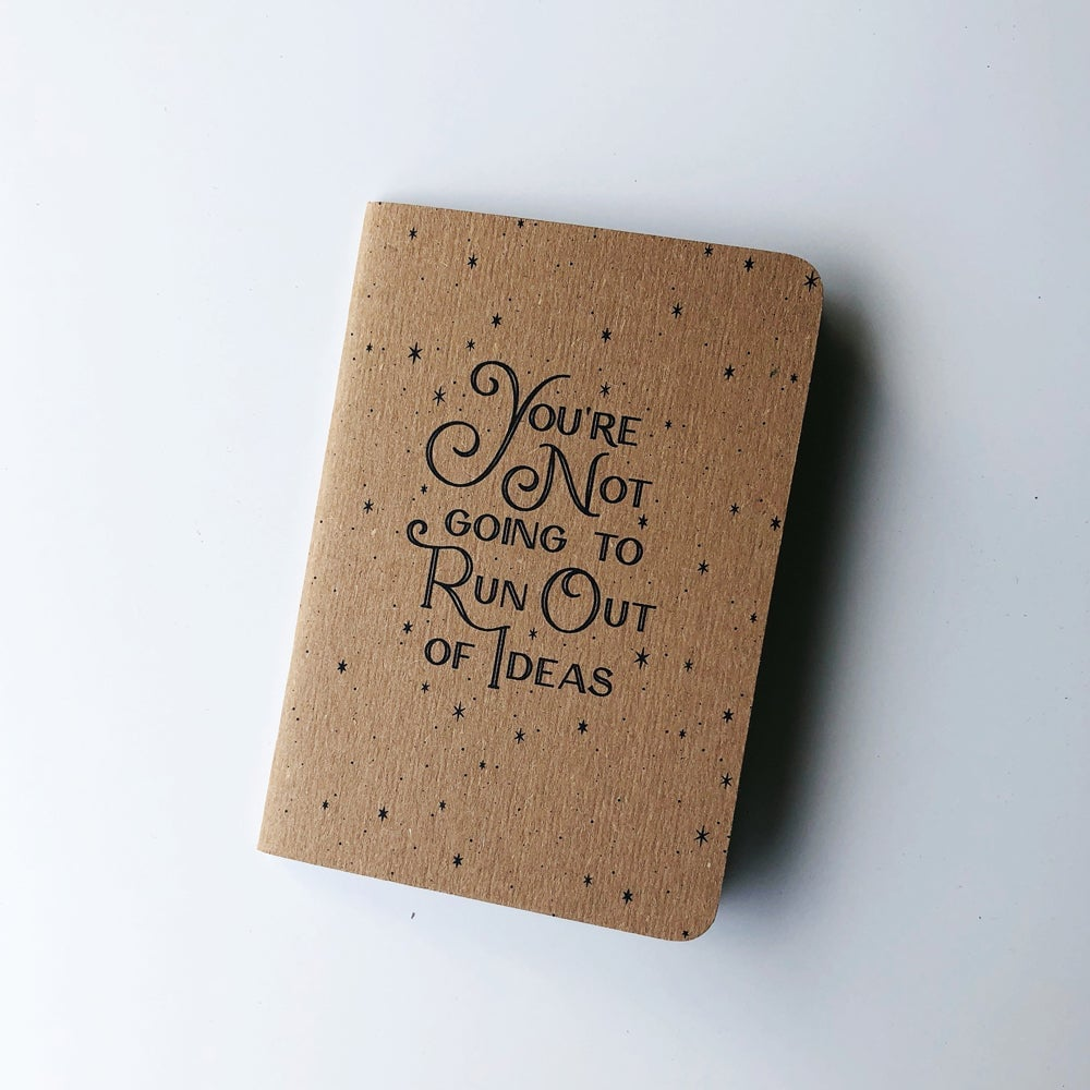 Get to Work Book Ideas Mini Notebook