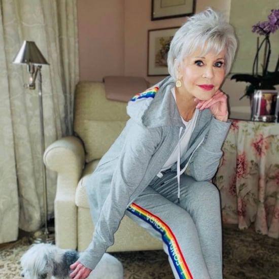 Jane Fonda Made Sweatsuits For Coronavirus Relief
