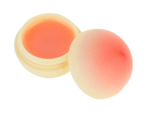 Not only does this Tony Moly Mini Peach Lip Balm ($10) look like your favorite fruit, but it also smells delicious. The moisturizing balm contains real peach extract that will make your pout look scrumptious.