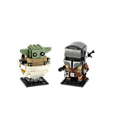 Lego BrickHeadz Star Wars The Mandalorian & The Child Kit