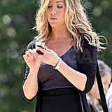 Photos of Jennifer Aniston Filming The Bounty