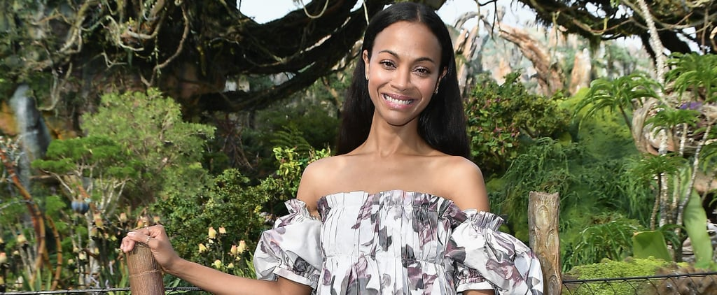 You're Going to Do a Double Take at Zoe Saldana's Best Style This Year