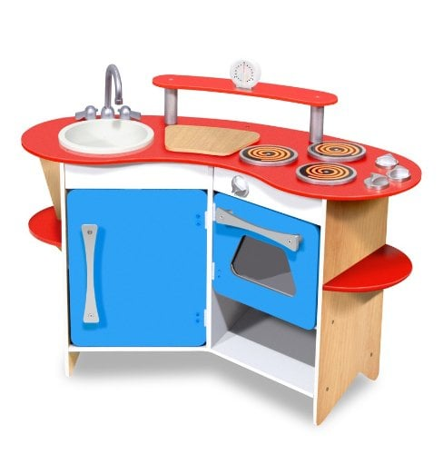 Wooden Play Kitchens | POPSUGAR Family