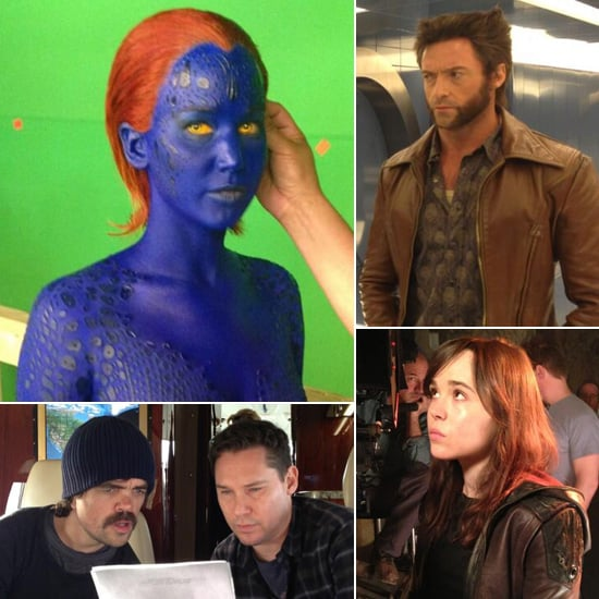 X-Men: Days of Future Past Behind the Scenes Pictures