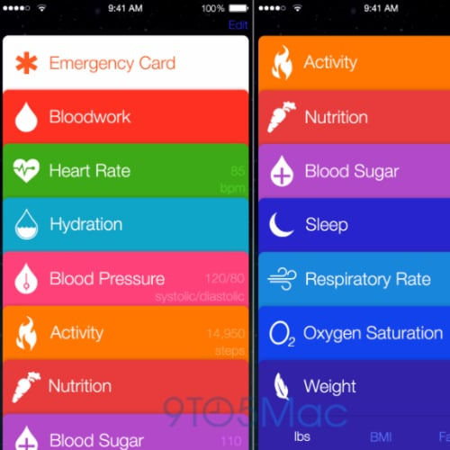 Apple Healthbook App