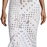 Jonathan Simkhai Sleeveless Bonded Burnout Midi Gown, White ($1,295)