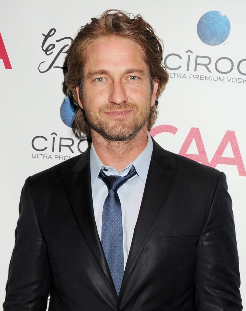 Gerard Butler attended CAA's Cannes bash.