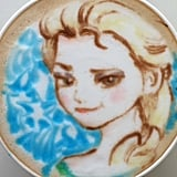 Frozen Latte Art