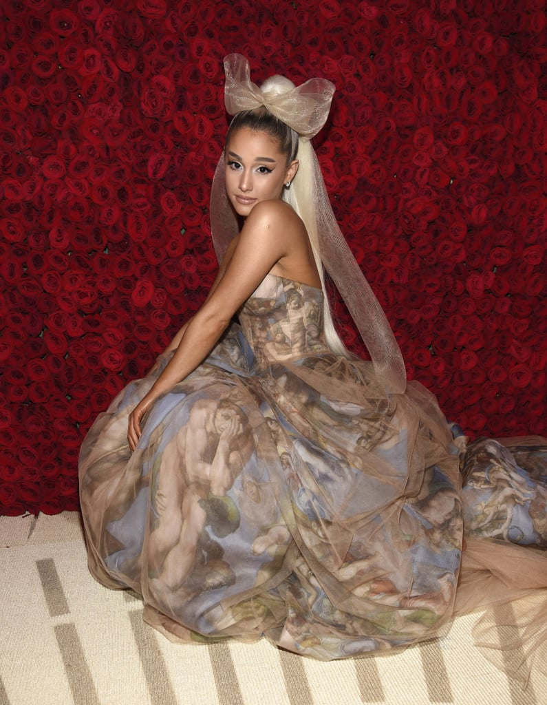 Buzzffed Best Of Ariana Grande: Best Pictures From The 2018 Met
