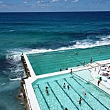 Take a dip in massive saltwater Icebergs pool in Sydney, Australia.