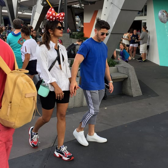 Priyanka Chopra Sneakers at Disney World August 2019