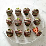 Holiday Chocolate-Covered Strawberries ($50)