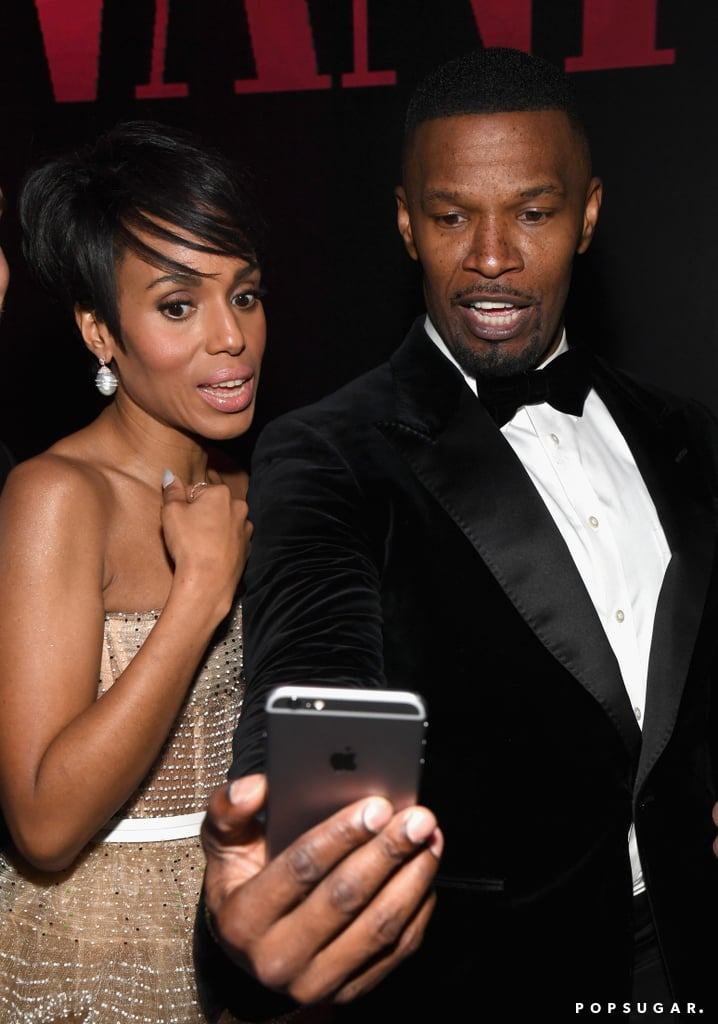 Kerry Washington and Jamie Foxx | Celebrities at 2019 ...