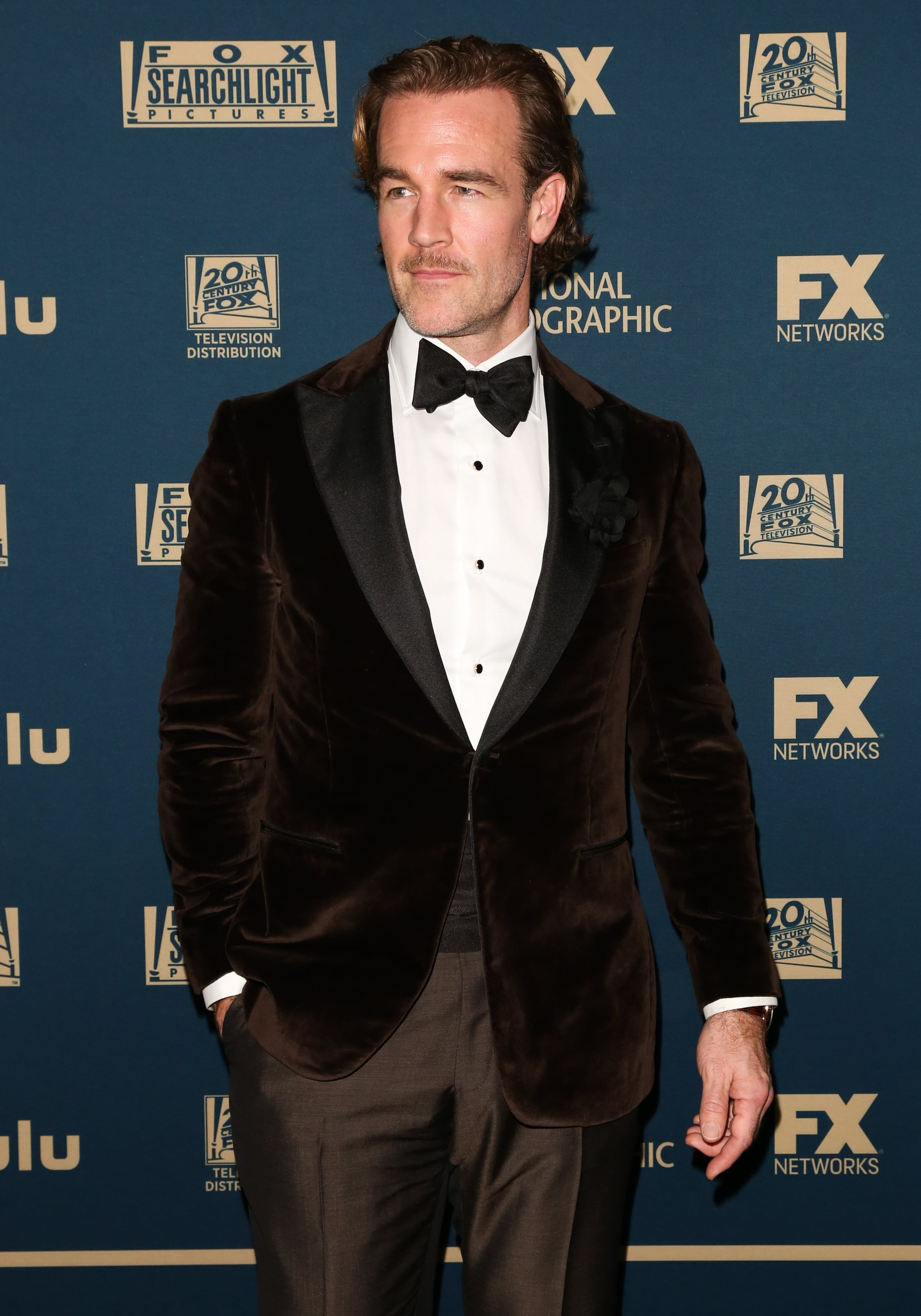 BEVERLY HILLS, CALIFORNIA - JANUARY 06: Actor James Van Der Beek attends the FOX, FX and Hulu 2019 Golden Globe Awards after party at The Beverly Hilton Hotel on January 06, 2019 in Beverly Hills, California. (Photo by Paul Archuleta/FilmMagic)
