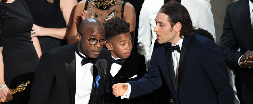Barry Jenkins Gracefully Accepts Moonlight's Best Picture Win After That Tragic Mistake
