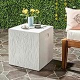 Bed Bath & Beyond Safavieh Cube Concrete Accent Table