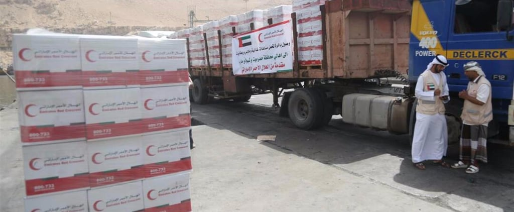 Emirates Red Crescent Helping For Eid
