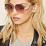 Forever 21 Gradient Square Sunglasses