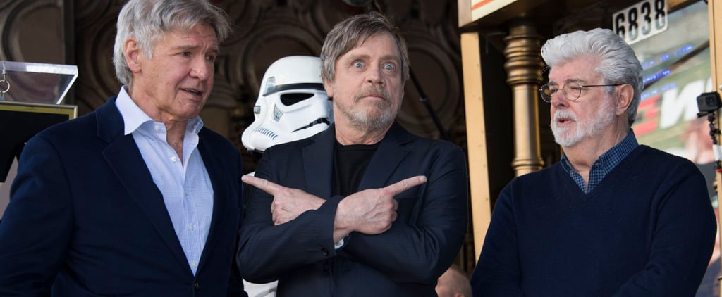 "Mark Hamill Is Joined by His Costars For ""Jedi Day"" as He's Honored With a Hollywood Star"