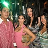 Kim threw us for a loop with this photo from 2006 — with a Scott Disick cameo to boot! Source: Instagram user kimkardashian