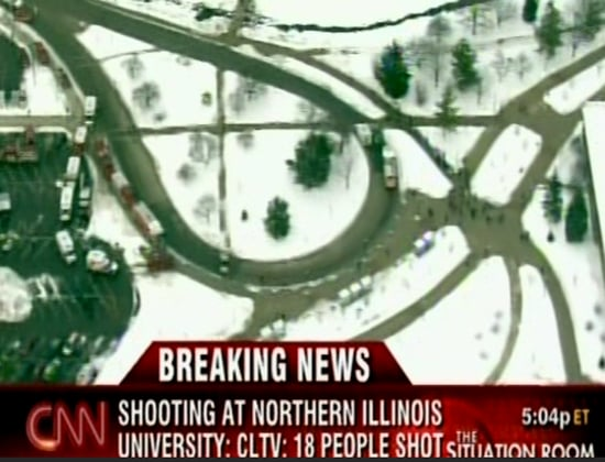 Headline: 17 Shot, 5 Dead at Northern Illinois University