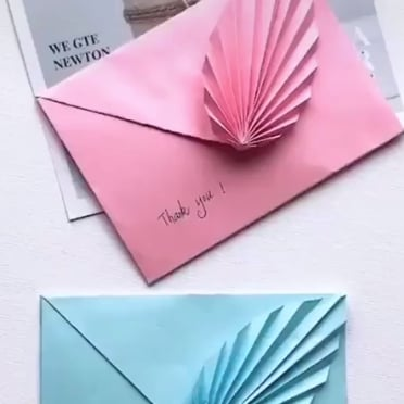This DIY Envelope Tutorial Is So Cool