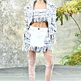 Kaia Opened the Chanel Show For Karl Lagerfeld, Which Is White an Honor!