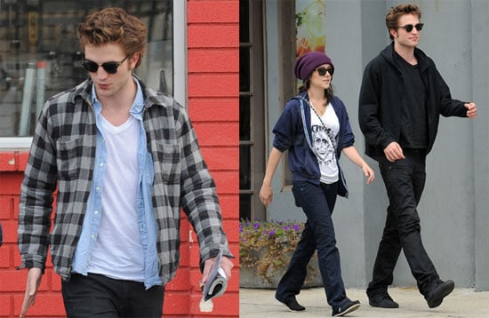 Photos of Robert Pattinson and Shannon Woodward in LA
