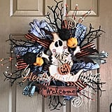 Ghost Welcome Wreath